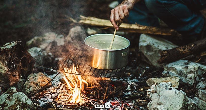 آشپزی در طبیعت | 11 غذای ساده و جذاب برای پختن در طبیعت