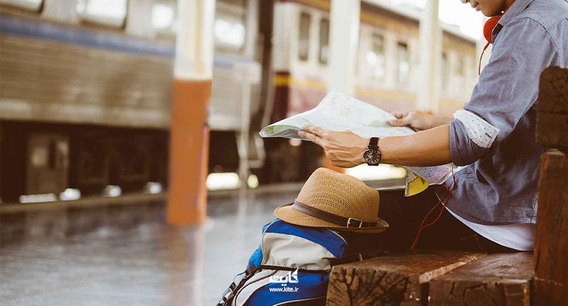 استرداد بلیط قطار در ایران