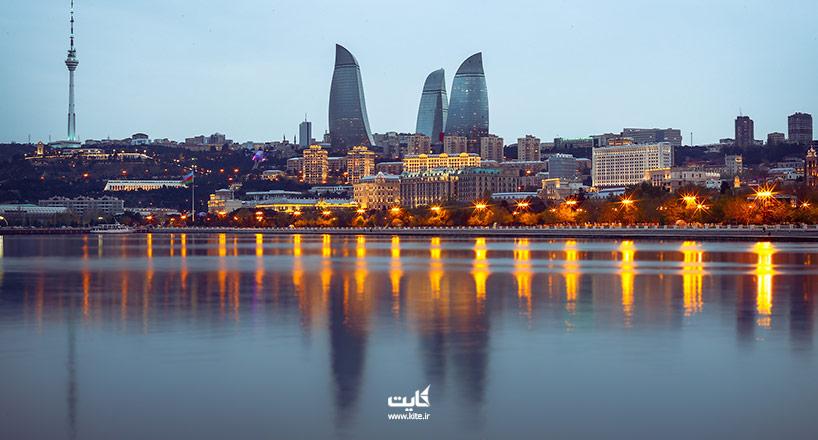 عکسهای باکو | 20 عکس برتر از مناطق مختلف و زیبا باکو