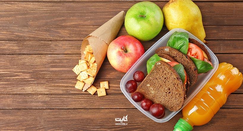 بردن غذا به هواپیما | چه غذایی با خود به هواپیما ببریم؟