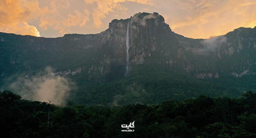 بلندترین آبشارهای جهان | 10 مورد از بلندترین آبشارهای جهان