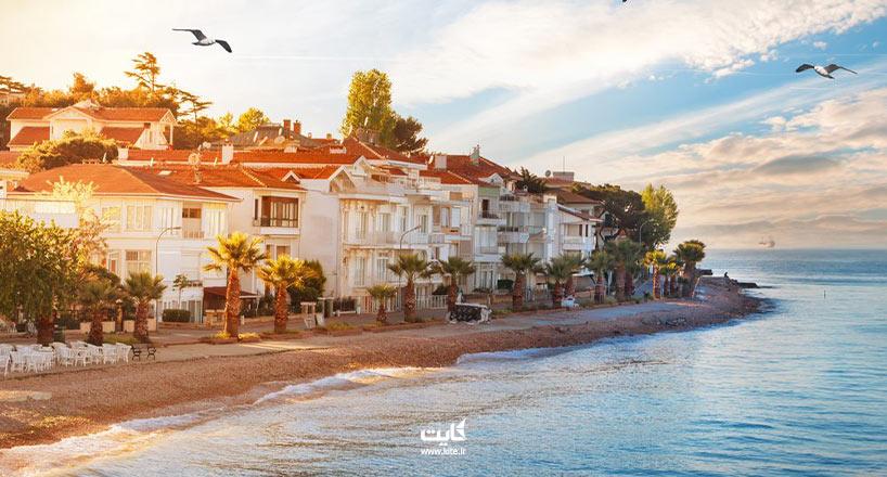 جزایر پرنس استانبول چهارجزیره خارقالعاده