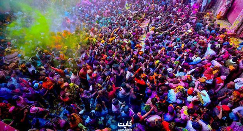 جشن هولی هند| جشن رنگی جذابتر از هر کشور دیگر