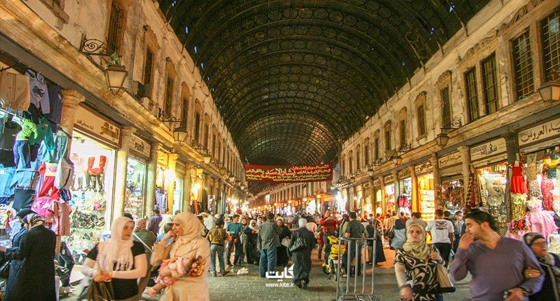 خرید  در سوریه   راهنمای خرید سوغاتی در کشور سوریه