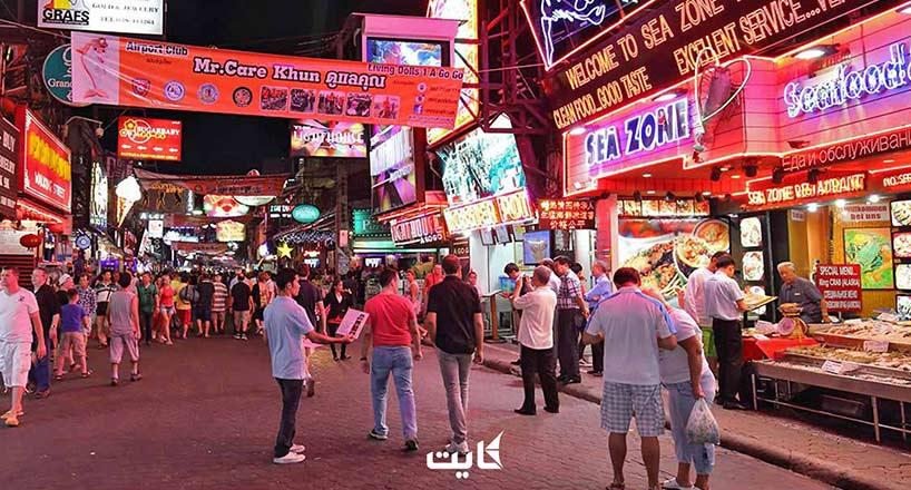 خیابان واکینگ استریت تایلند کجاست؟ 10 نکته ضروری