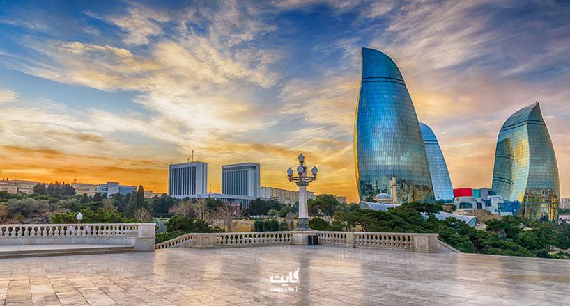 سفر با ماشین شخصی به باکو | از کدام مرز به باکو برویم؟