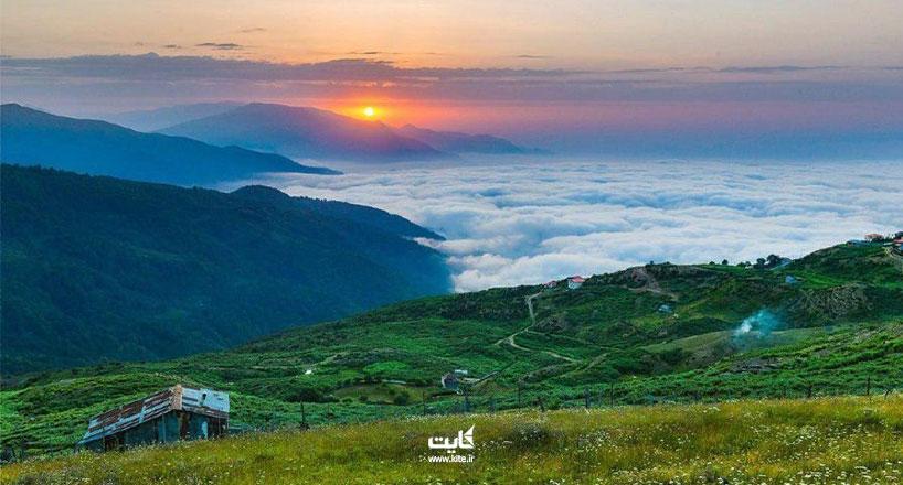 سفر به فیلبند با ماشین شخصی | هزینه سفری به بام مازندران