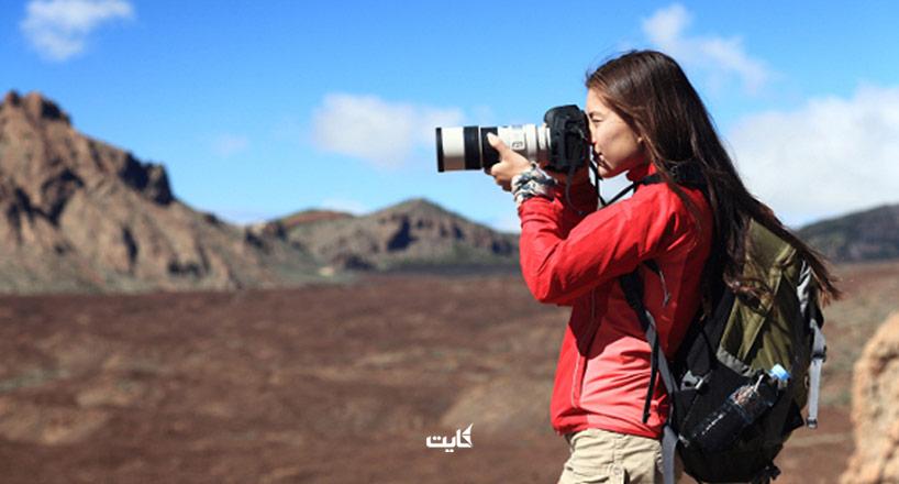 عکاسی در سفر | از دوربینهای حرفهای عکاسی گرفته تا تلفن همراه