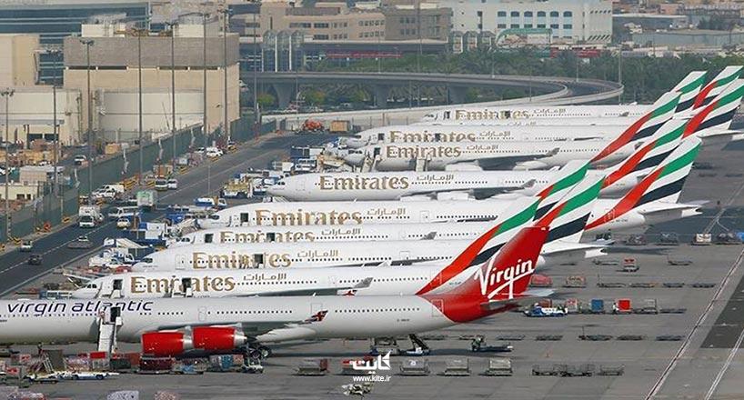 فرودگاه دبی| اطلاعات، نقشه و تصاویر فرودگاه بین المللی دبی
