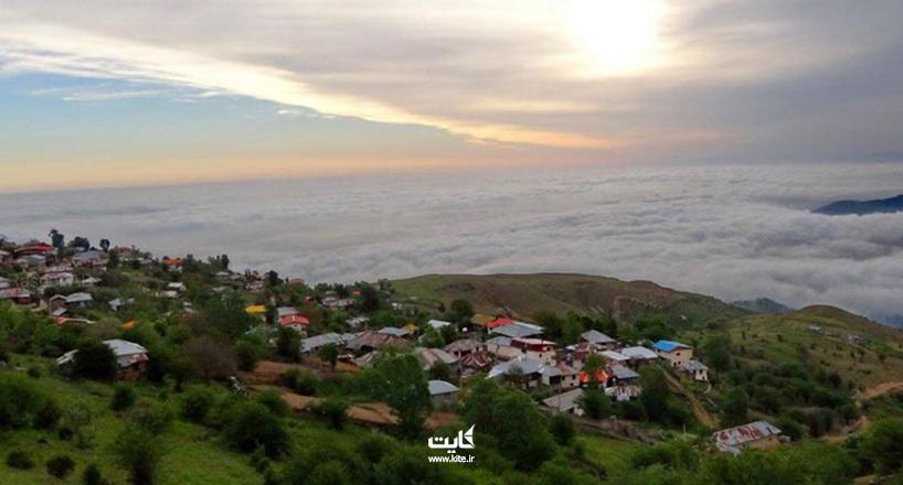 روستای فیلبند ، لمس نسیمی خنک بر فراز بام مازندران