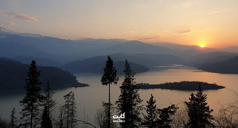 لفور کجاست؟ راههای دسترسی به جنگل و دریاچهی لفور مازندران