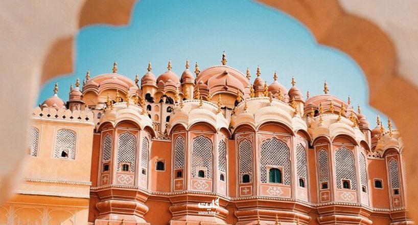 بهترین هتل 5 و 4 و 3 ستاره جیپور هند کجاست | 5 هتل برتر جیپور