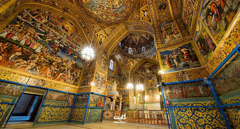معروف ترین کلیساهای ایران در کجا هستند؟| 7 کلیسای برتر ایران