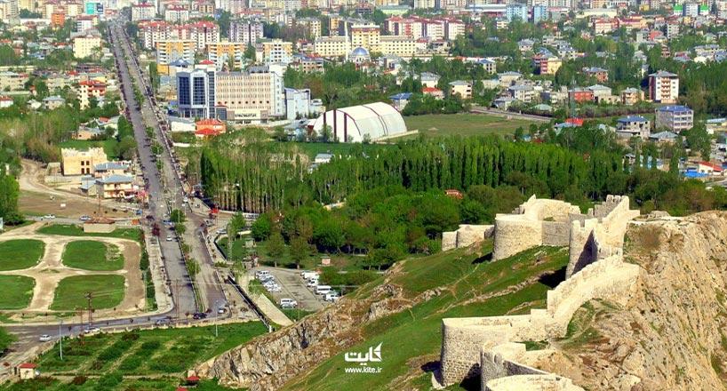 خرید بلیط زمینی و هوایی وان ترکیه