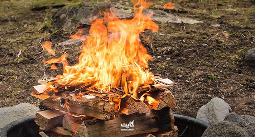 چرا نباید در طبیعت آتش روشن کنیم؟