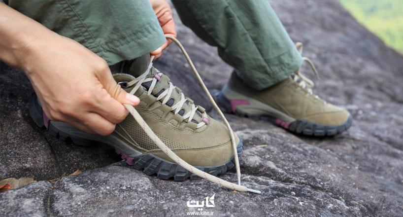 انتخاب کفش مناسب طبیعتگردی و کویرگردی