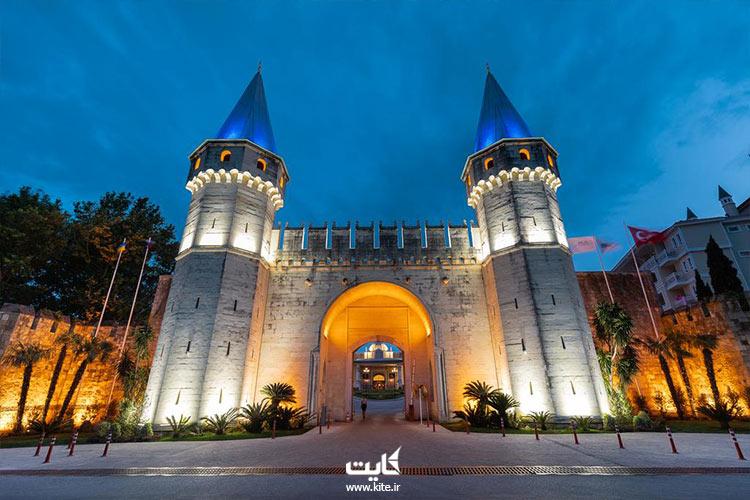 کاخ توپکاپی از دیدنیهای تور استانبول کایت