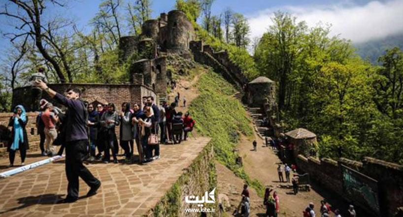 قلعه رودخان، قلعه هزارپله