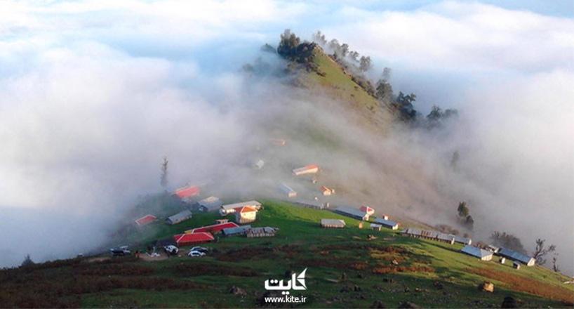 اولسبلنگاه بهشتی در میان ابرها