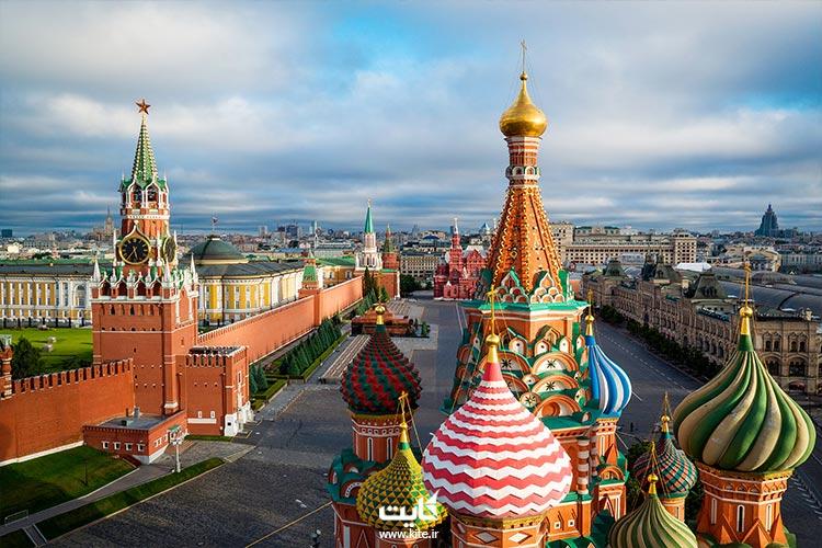 اقامت در بهترین هتل ها در تور مسکو