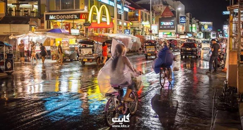 تفریحات شگفت انگیز تایلند در فصل های بارانی