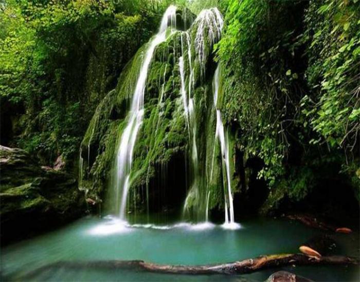 آبشارهای شیرآباد یکی از مکانهای دیدنی استان گلستان