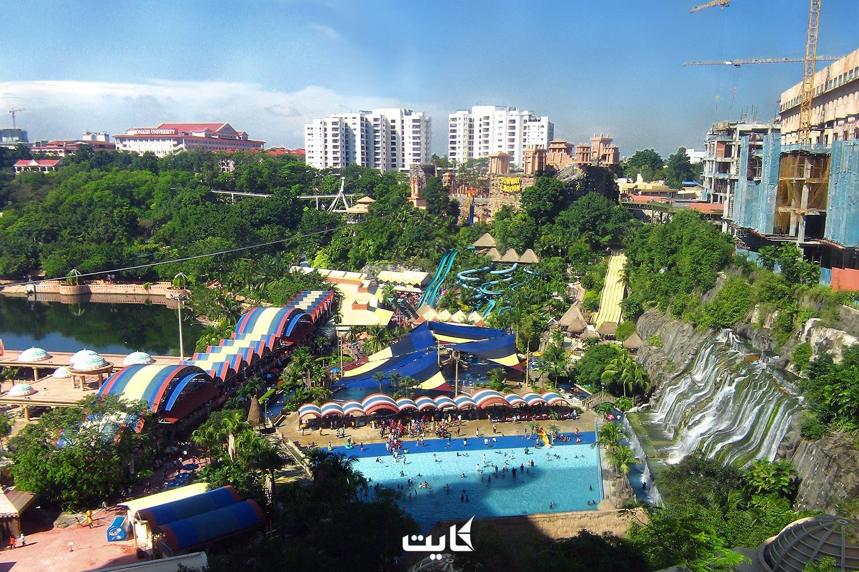 پارک آبی های مالزی | معرفی 6 پارک آبی برتر مالزی