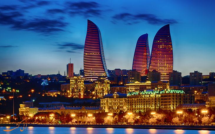 10 تا از مراکز خرید باکو