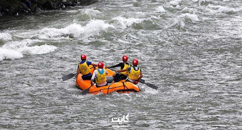 بهترین رودخانه ها برای رفتینگ در ایران