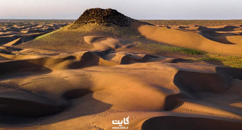 کویر رضاآباد سبزوار | آدرس + جاذبهها + تصاویر