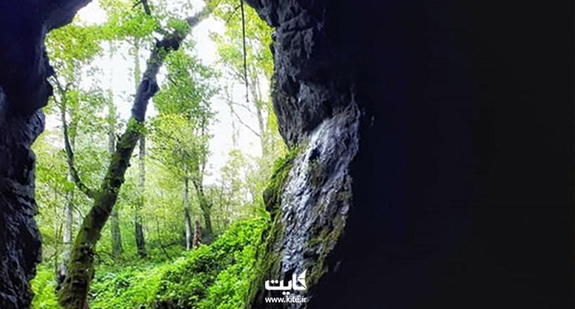 غار آویشو ماسال یکی دیگر از شگفتیهای استان گیلان