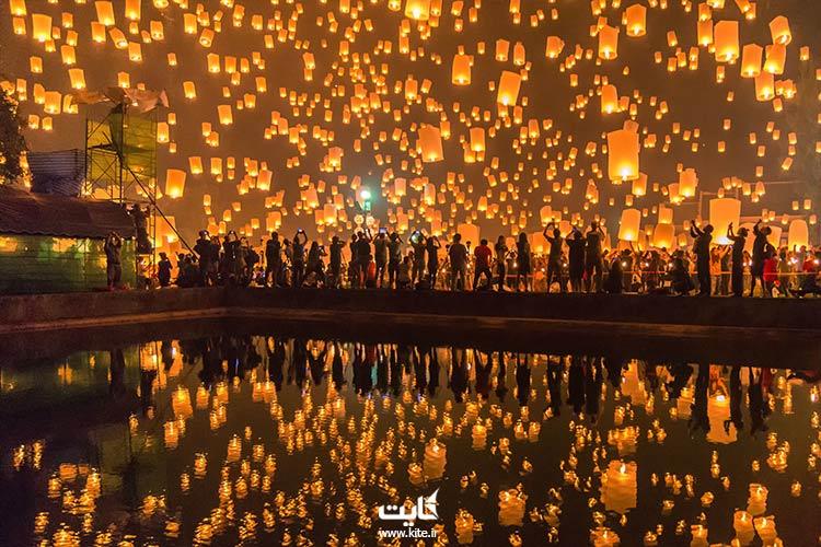 جشن فانوس تایلند
