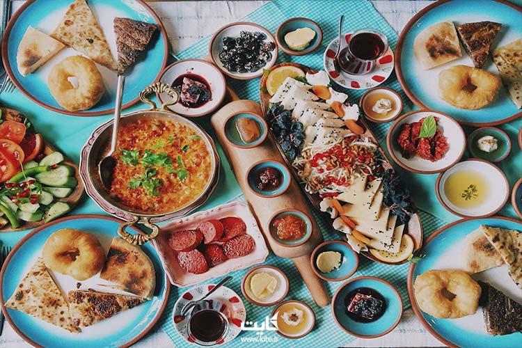 بهترین  رستوران ها و کافه های استانبول برای صبحانه