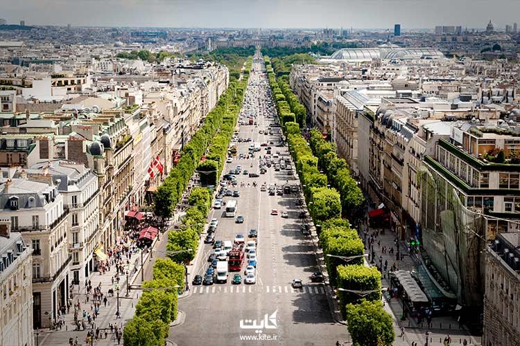 تور 7 روزه زوریخ- پاریس