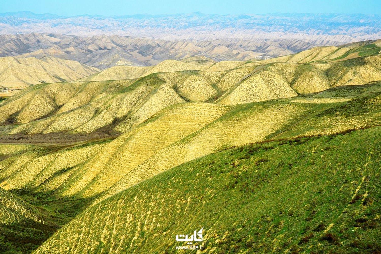 آققلا در ترکمن صحرا