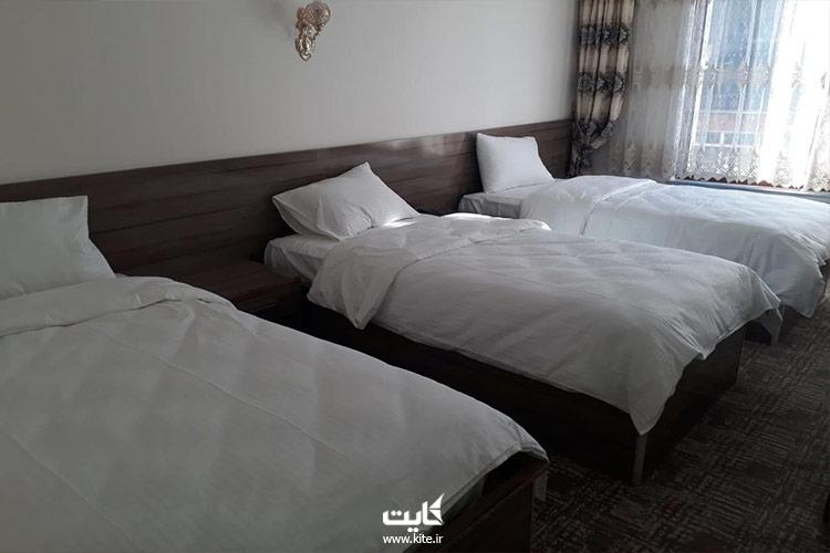 اتاقهای-هتل-توپراک-وان