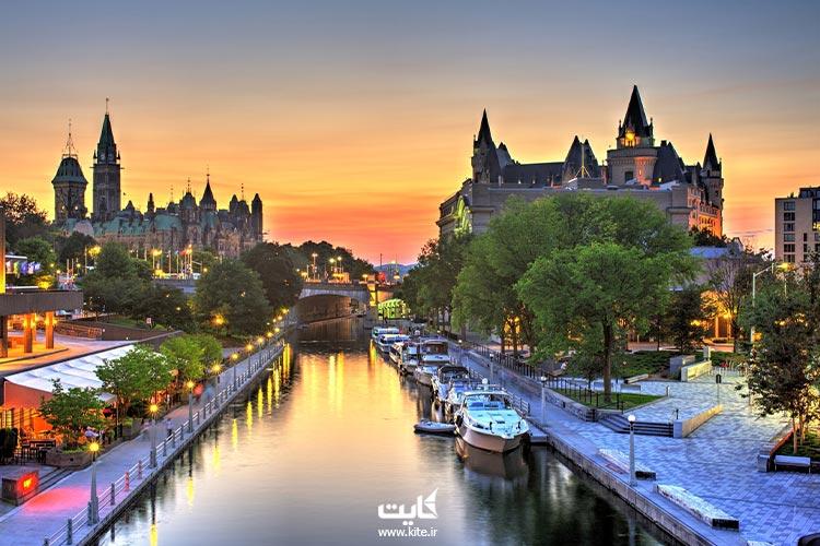 اتاوا، بهترین شهر کانادا برای زندگی