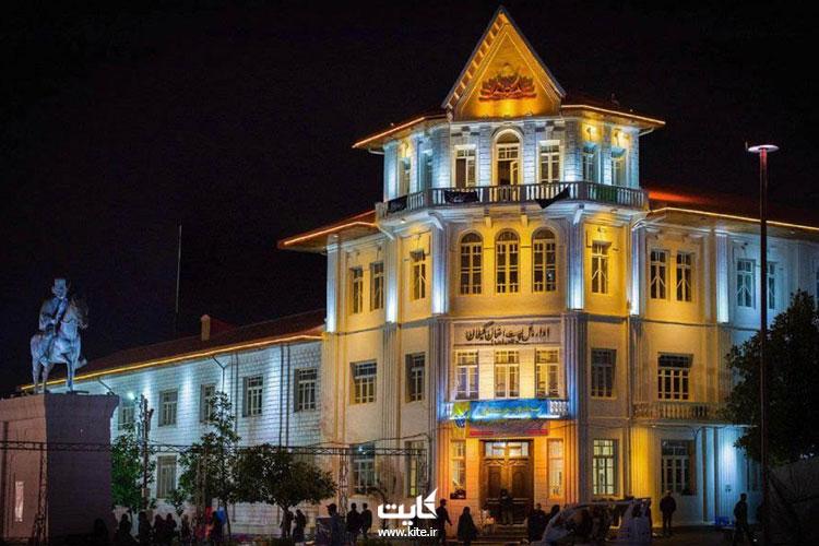 اداره-پست-در-نزدیکی-میدان-شهرداری-رشت