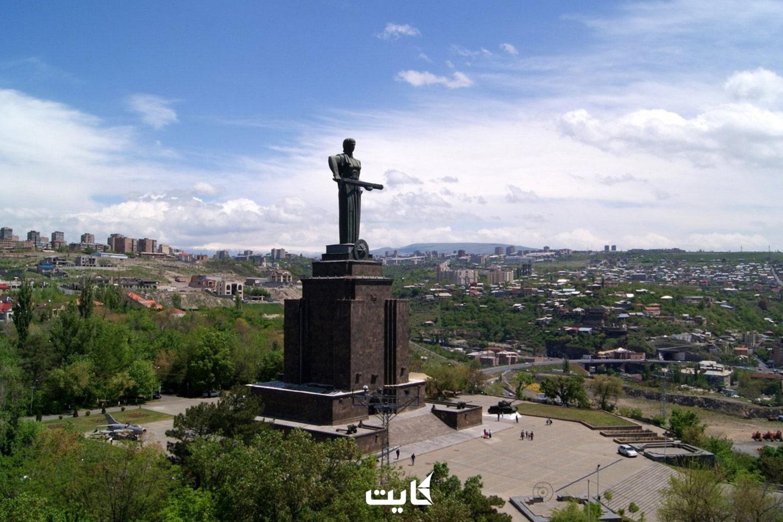 مجسمه مادر در کشور ارمنستان