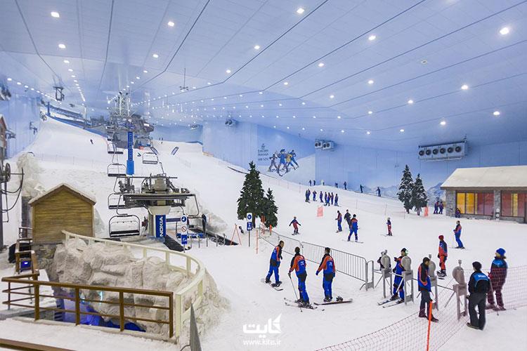 اسکی-از-تفریحات-مجردی-دوبی-امارات