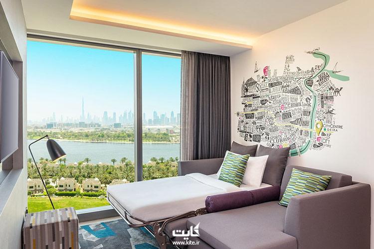 الافت-سیتی-سنتر-دیرا-از-ارزانترین-هتلهای-دوبی
