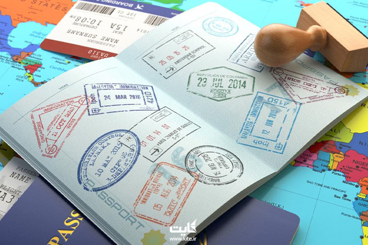 انواع-مهرها-روی-پاسپورتهای-کشورهای-جهان