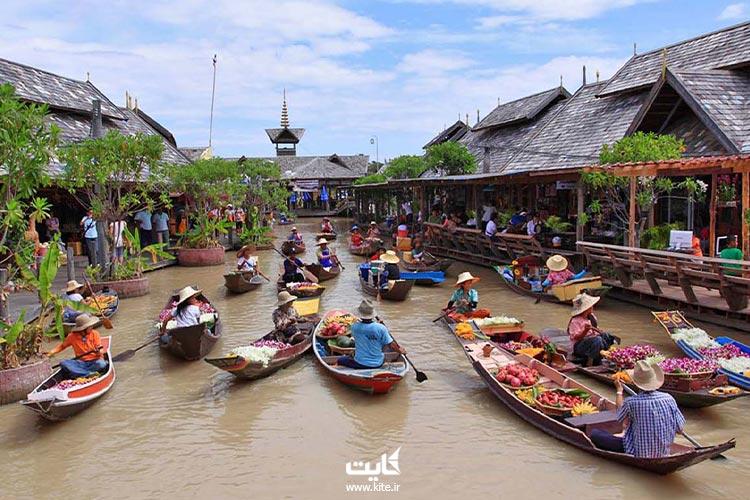 بازارهای-شناور-پاتایا-تایلند