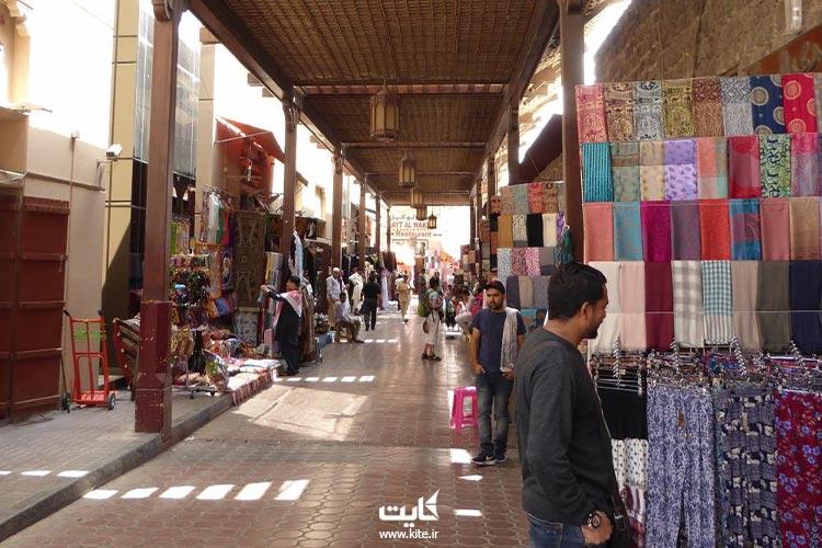 بازار-عربی-منسوجات-دوبی