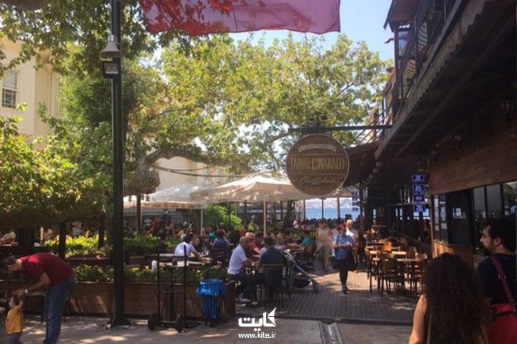 باغ-چای-خانوادگی-طارحی-سینارالتی-از-بهترین-مکانهای-استانبول-برای-خوردن-چای