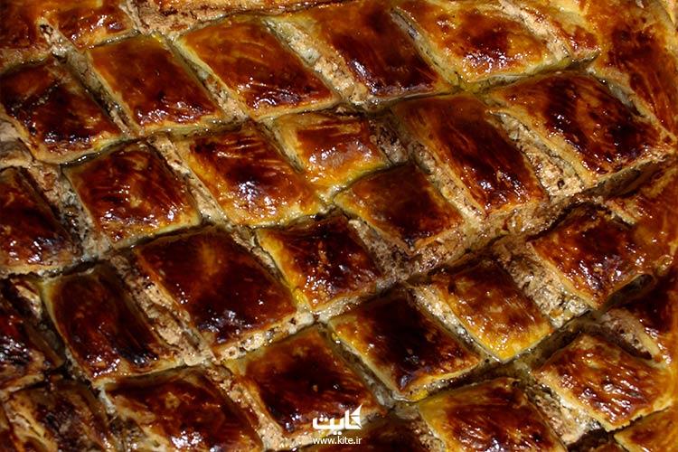 باقلوا-غذای-ارمنی