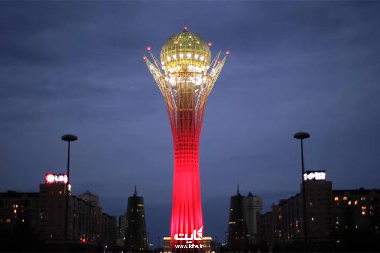 برج-بایترک-از-جاذبههای-قزاقستان