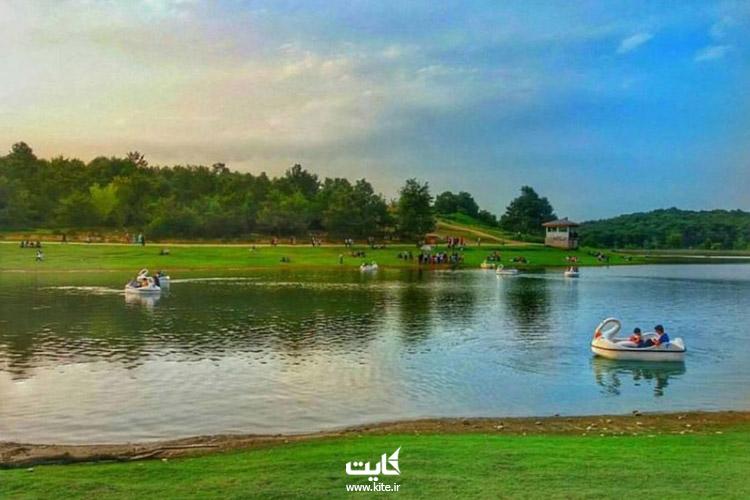 تابستان-در-دریاچه-سقالکسار