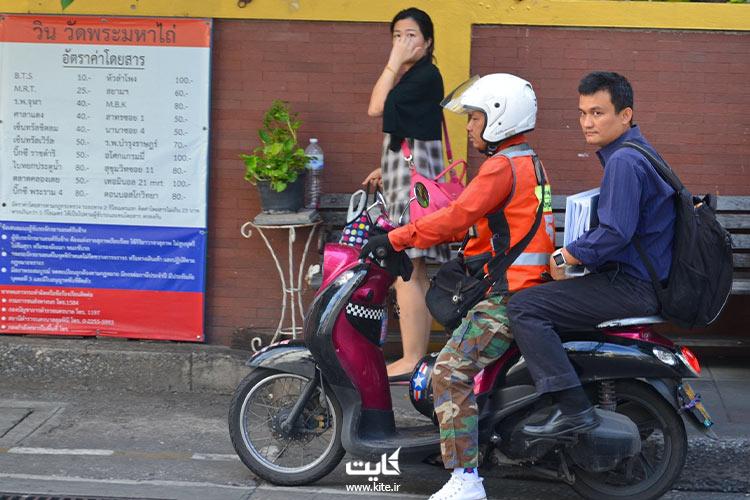 تاکسی-موتورسیکلت-از-وسایل-حملونقل-در-پاتایا
