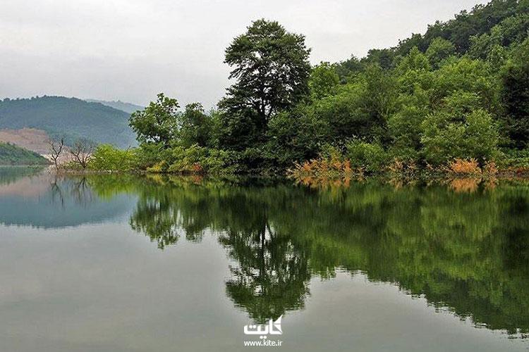 جاذبههای-گردشگری-اطراف-دریاچه-لفور-سوادکوه